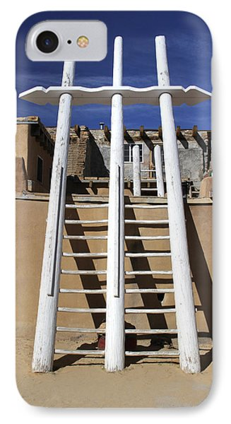 The Ladder Acoma Pueblo IPhone Case by Mike McGlothlen