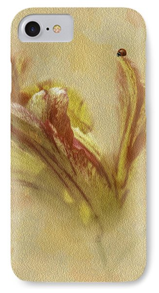 The Lady And The Parrot Tulip Phone Case by Diane Schuster