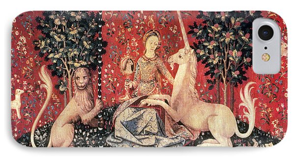 The Lady And The Unicorn, 15th Century IPhone Case