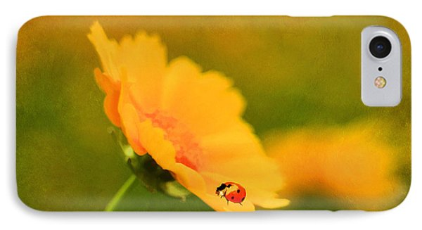 The Lady Bug Phone Case by Darren Fisher