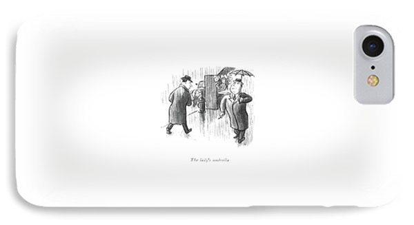 The Lady's Umbrella IPhone Case