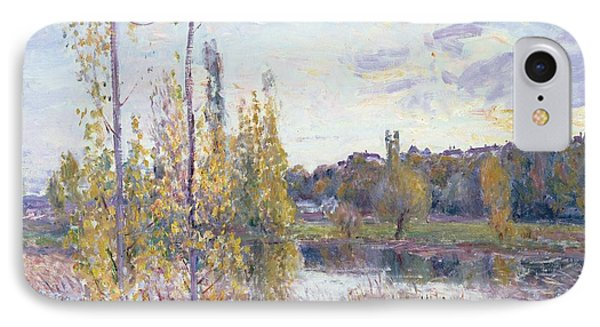 The Lake At Chevreuil Phone Case by Alfred Sisley