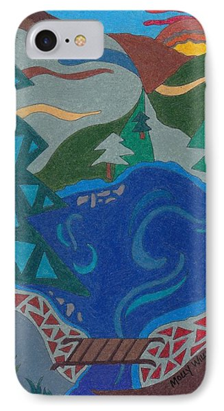 The Lake Bridge IPhone Case by Molly Williams