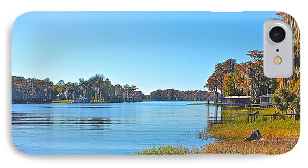 IPhone Case featuring the photograph The Lake by Cyril Maza