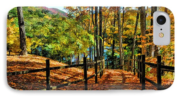 IPhone Case featuring the photograph The Lake Path by Kenny Francis