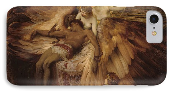 The Lament For Icarus IPhone Case by Herbert James Draper
