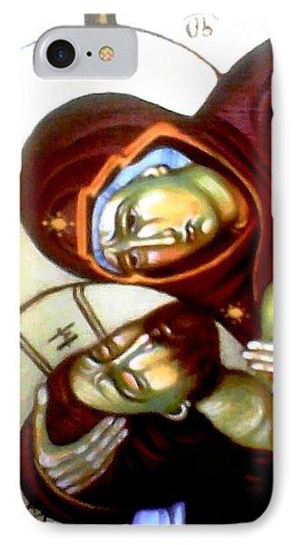 The Lamentation Phone Case by Sonya Grigorova