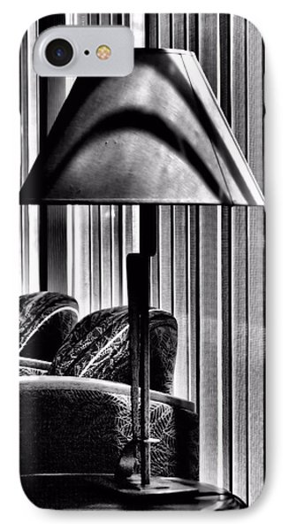 The Lamp In The Lobby IPhone Case by Bob Wall