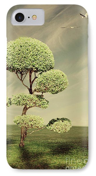 The Land Of The Lollipop Trees Phone Case by Linda Lees