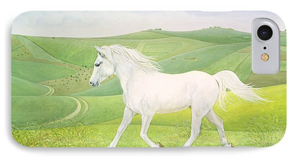 The Landscape Horse IPhone Case by Ditz