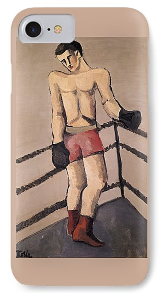 The Large Boxer IPhone Case by Helmut von Hugel Kolle