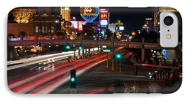 The Las Vegas Strip Phone Case by Eddie Yerkish