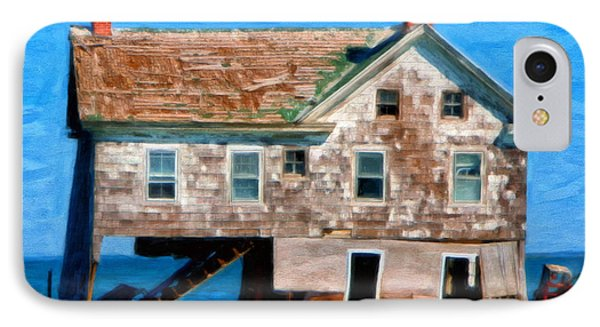 The Last House On Holland Island IPhone Case by Michael Pickett
