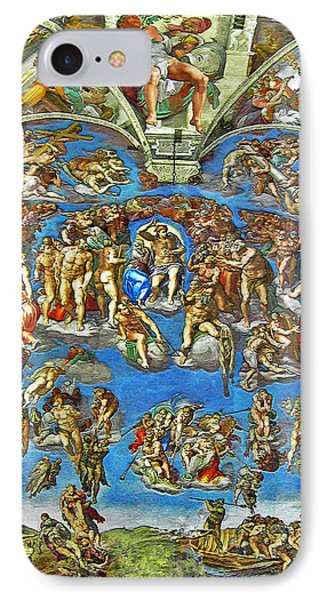 The Last Judgement IPhone Case by Michelangelo