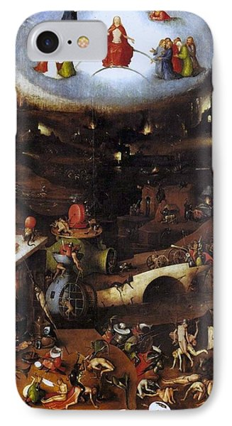 The Last Judgment - Central Panel IPhone Case by Hieronymus Bosch