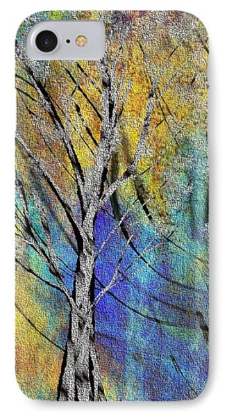 IPhone Case featuring the painting The Last Leaf by Yul Olaivar