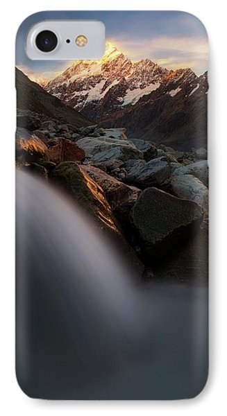Rocky Mountain iPhone 7 Case - The Last Light by Yan Zhang
