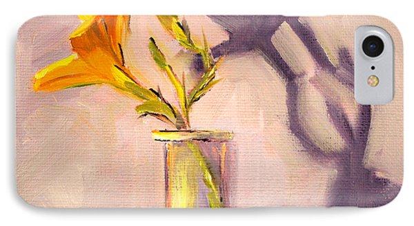 The Last Lily Phone Case by Nancy Merkle