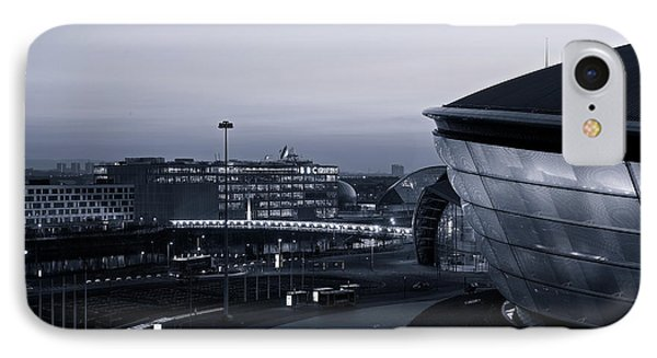 IPhone Case featuring the photograph The Last Of The Light At The Hydro by Stephen Taylor