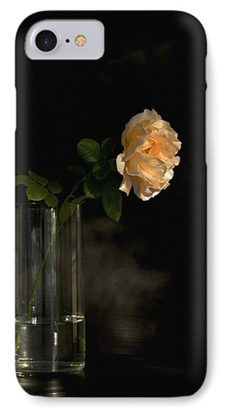 The Last Rose Of Summer Phone Case by Theresa Tahara