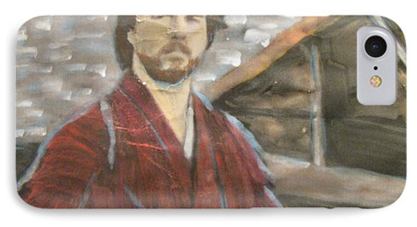 IPhone Case featuring the painting The Last Samurai by Vikram Singh
