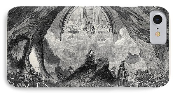 The Last Scene From The New Opera Of Satanella At Covent IPhone Case