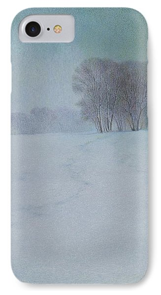 The Last Snow Phone Case by Lynn Bywaters