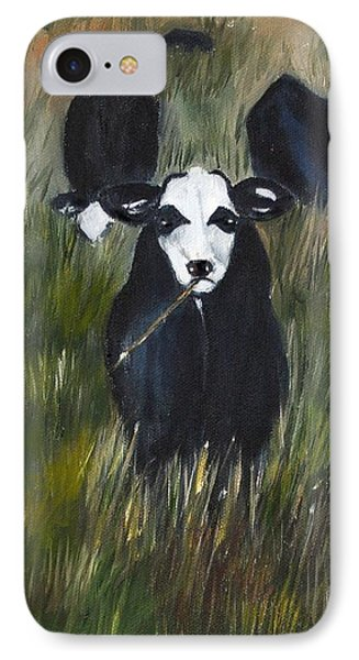 IPhone Case featuring the painting The Last Straw by Carol Sweetwood