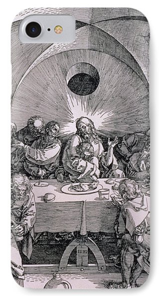The Last Supper From The 'great Passion' Series Phone Case by Albrecht Duerer