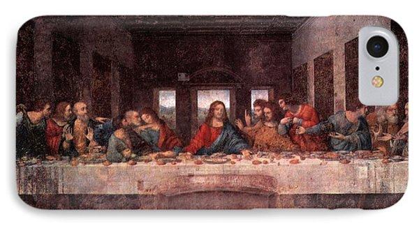 The Last Supper IPhone Case by Leonardo Davinci