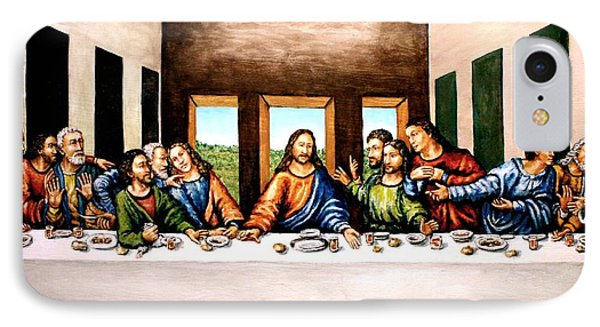 The Last Supper Phone Case by Todd Spaur