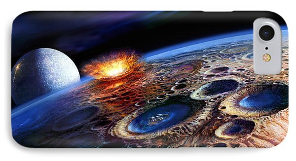 The Late Heavy Bombardment Phone Case by Don Dixon
