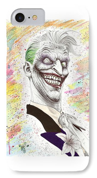 The Laughing Man IPhone Case by Wave