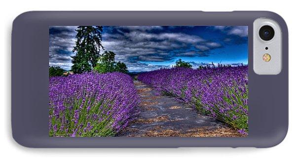 The Lavender Field IPhone Case by Thom Zehrfeld