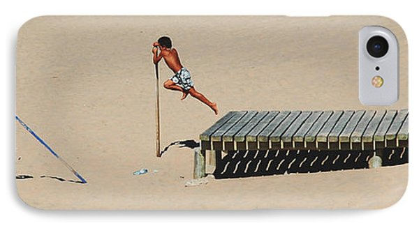 IPhone Case featuring the photograph The Leap by Luis Esteves