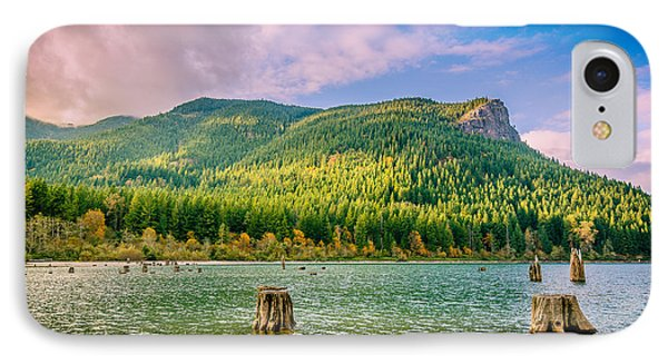 The Ledge Above The Lake Phone Case by Brian Xavier