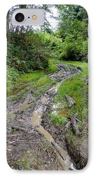 The Ledge Point Trail IPhone Case by Roxy Hurtubise