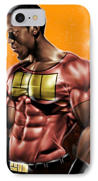 The Legend Of Will Power IPhone Case by Pete Tapang