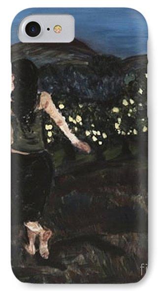 The Lemon Tree Field IPhone Case by Helena Bebirian
