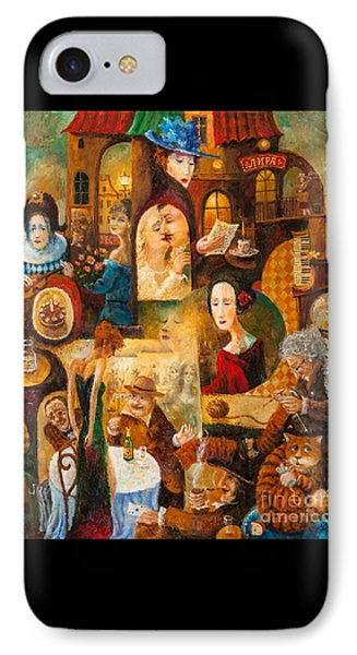 IPhone Case featuring the painting The Letter by Igor Postash