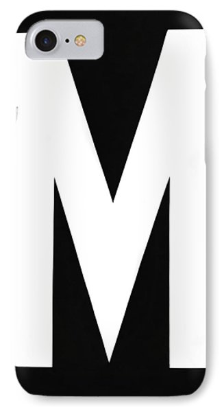 The Letter m  And Two Women IPhone Case by Underwood Archives
