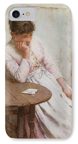 The Letter  Phone Case by Walter Langley