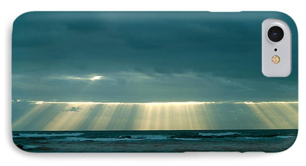 IPhone Case featuring the photograph The Light Above Kapoho by Lehua Pekelo-Stearns