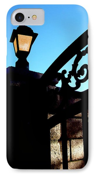 The Light And The Gate Phone Case by Glenn McCarthy Art and Photography