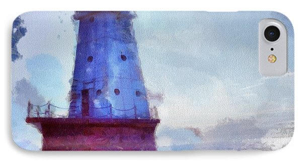The Light House IPhone Case by Jeff Klingler