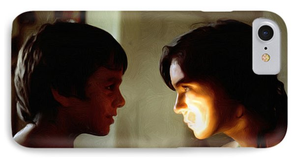 IPhone Case featuring the digital art The Light In Their Eyes by Spyder Webb
