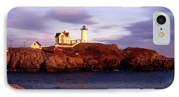The Light On The Nubble IPhone Case by Skip Willits