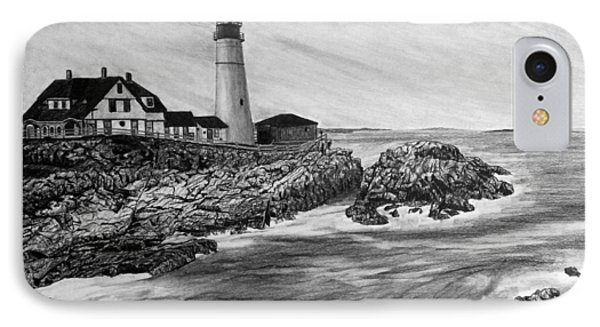 The Lighthouse IPhone Case by Bobby Shaw