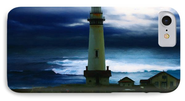 The Lighthouse Phone Case by Cinema Photography