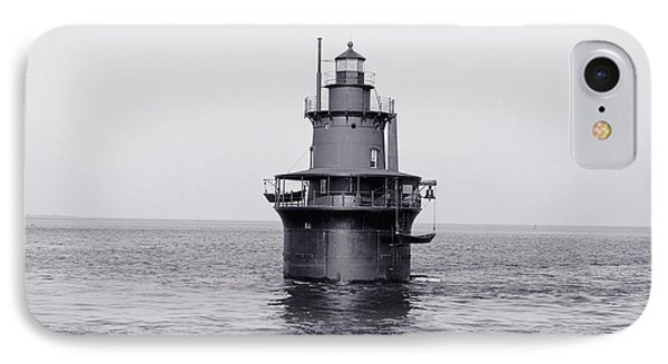 The Lighthouse Circa 1906 IPhone Case by Aged Pixel